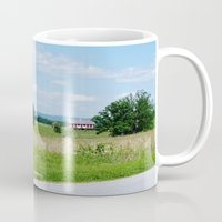battlefield Mugs featuring Gettysburg Battlefield 3 by Scenic Sights by Tara