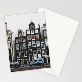 Amsterdam Houses Stationery Cards