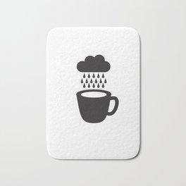 Rainy Day Coffee Bath Mat