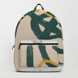 Tubular green Backpack
