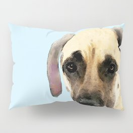 Great Dane Art - Dog Painting by Sharon Cummings Pillow Sham