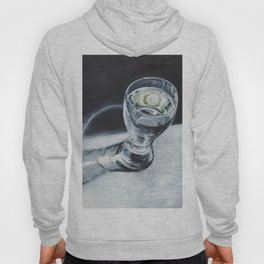 Glass of the water in the light Hoody