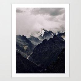 The Caucasus Art Print