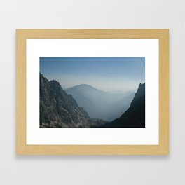 Scoop Framed Art Print