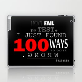 I DIDN'T FAIL THE TEST Laptop & iPad Skin