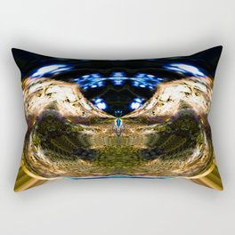 Abstract chaos ball Rectangular Pillow