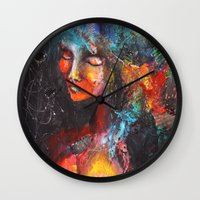 africa Wall Clocks featuring Africa. by phuong (Ong Ngoc Phuong)