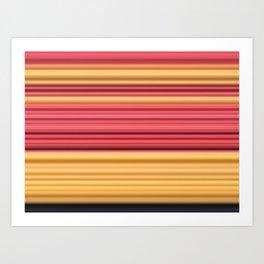 Vanishing Yarn Art Print