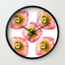 Floral Troupe Wall Clock