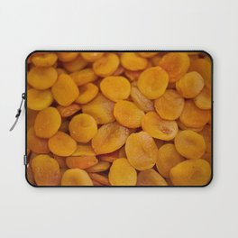 Dried cut apricot fruits Laptop Sleeve
