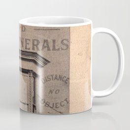 Cheapest Funerals Francis J. Walters London Storefront black and white photograph Coffee Mug