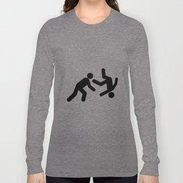 Stickman Throw Long Sleeve T-shirt