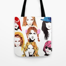 Britney Spears Timeline Tote Bag