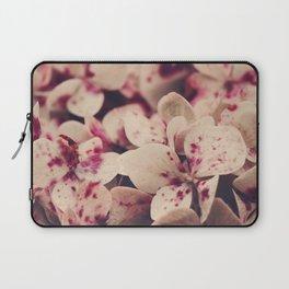 hydrangea - pink freckles Laptop Sleeve