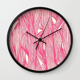 Inklines III Wall Clock