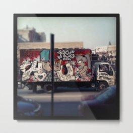 graffiti truck Metal Print