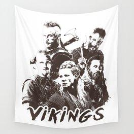 vikings Wall Tapestry
