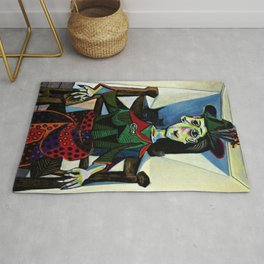 Dora Maar au Chat by Pablo Picasso Rug