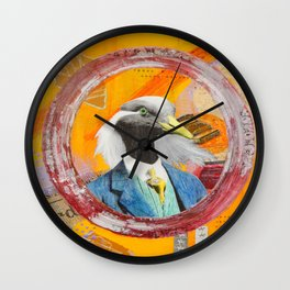Lucca 'Lucky' Fortunato Wall Clock