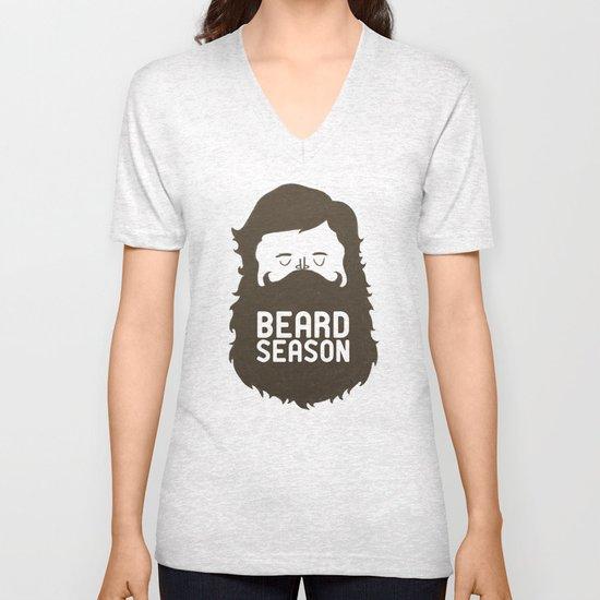 Beard Season Unisex V-Neck
