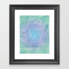 Peacful Lagoon Framed Art Print