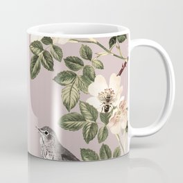 Birds and the Bees Pink Berry Coffee Mug