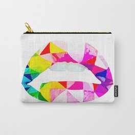 Labios geometricos Carry-All Pouch