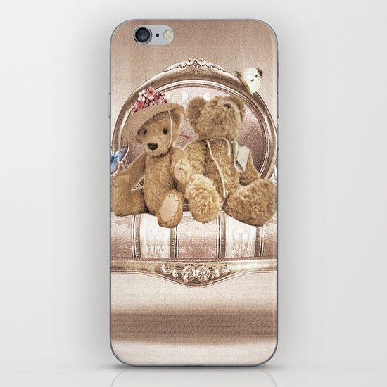 Teddies iPhone & iPod Skin