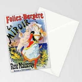 Jules Cheret Folies-Bergere Le Miroir 1896 Stationery Cards