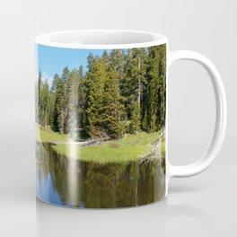 Morning Serenity At The Yellowstone NP Coffee Mug