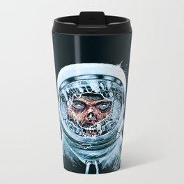 Zombie Spaceman Metal Travel Mug