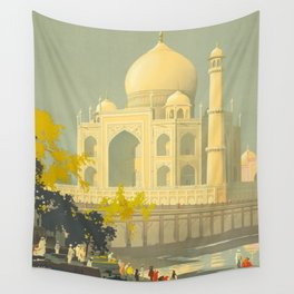 Visit India Wall Tapestry