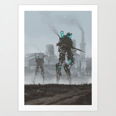 1920 - dark infantry Art Print