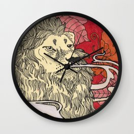 Befriend Your Demons  Wall Clock