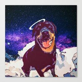 Space doggo Canvas Print