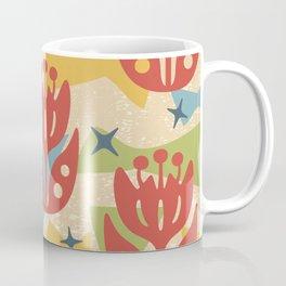 Mid Century Modern Butterfly Garden 201 Coffee Mug