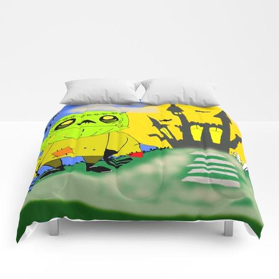 Franken Zombie Night Comforters