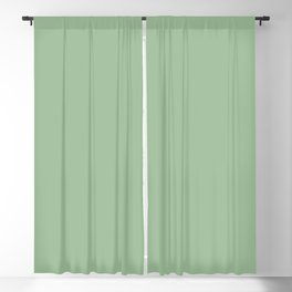 QUIET GREEN solid color Blackout Curtain