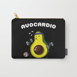 Avocardio Avocado Vegan Fitness Workout Carry-All Pouch