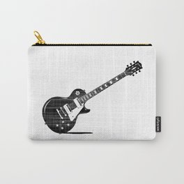 Black Guitar Carry-All Pouch