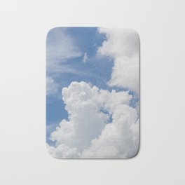 Fluffy Puffy Clouds in the Florida Sky Bath Mat