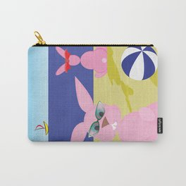 Bunnies on the beach Carry-All Pouch