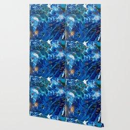 Rainbow Fish Swim, Environmental Tiny World Collection Wallpaper