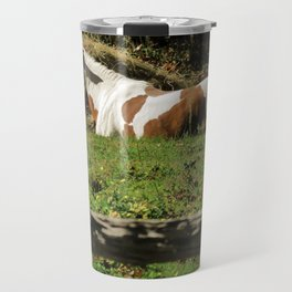 Paint By Nature Horse Photo Travel Mug
