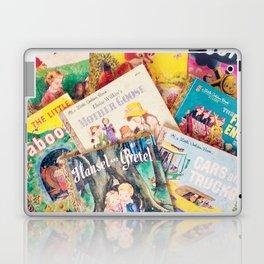 Little Vintage Library Laptop & iPad Skin