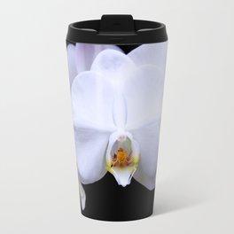 White Orchid2 Travel Mug