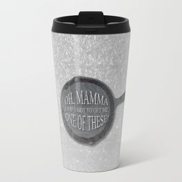 Funny flynn rider from tangled frying pan quote.  Oh mamma I have got to get me one of these. Travel Mug