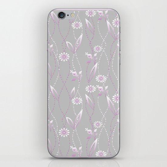 Gray lilac floral pattern . by fuzzyfox85