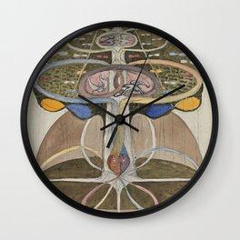 Hilma af Klint Tree of Knowledge No. 1 (1913) Wall Clock