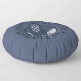 Minnesota Middle Finger Floor Pillow